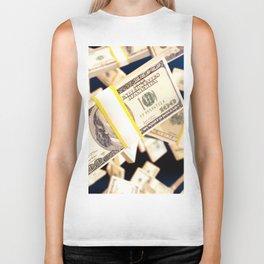 Flying dollars Biker Tank