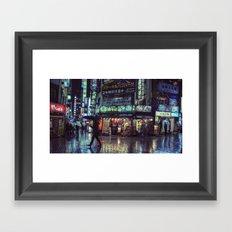 T0:KY:00 / Kabukichō Nights / Blade Runner Origins Framed Art Print
