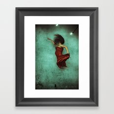 Leaving Behind the Sky Framed Art Print