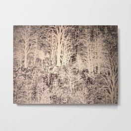 Trees my peaceful place Metal Print