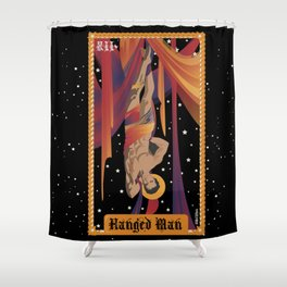 Keanu as The Hanged Man Shower Curtain