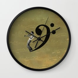 Miles Away Wall Clock