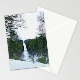 Snowy Hill Stationery Cards