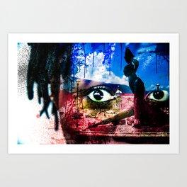 Haiti Cherie Art Print