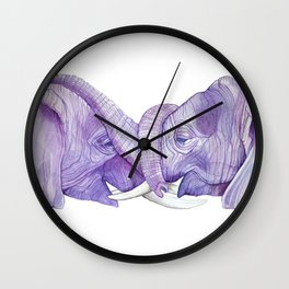 Trunk Love Wall Clock