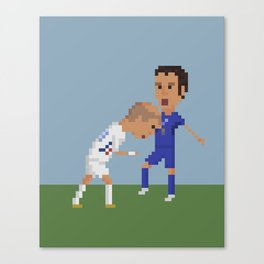 Zidane's Headbutt Canvas Print