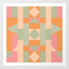 Candy Land 2 Art Print