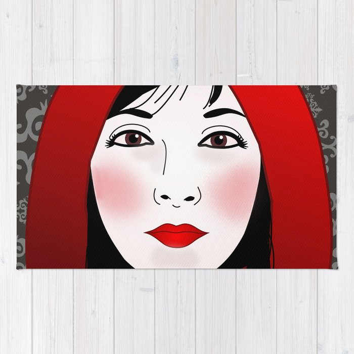 Little riding red hood Rug