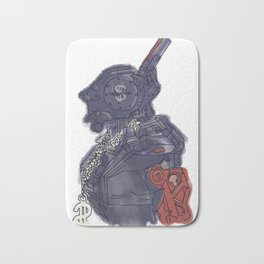 Chappie Bath Mat