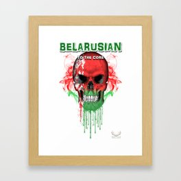 To The Core Collection: Belarus Framed Art Print