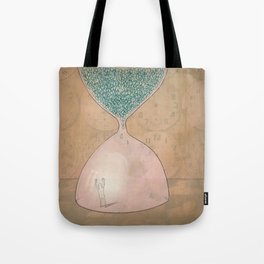 The Captain and The Hourglass Tote Bag