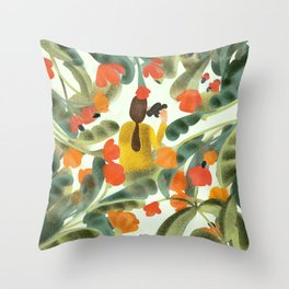 Spying On You Throw Pillow