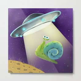 World UFO Day Metal Print