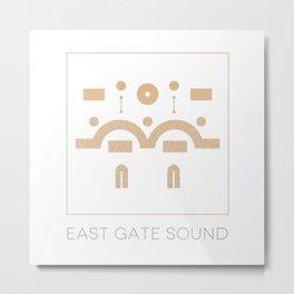 East Gate Sound  Metal Print