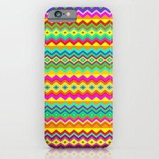 Aztec Summer colors Beach Towel iPhone 6s Slim Case