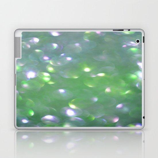 Glitter Bubbling Laptop & iPad Skin