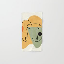 Abstract Faces 19 Hand & Bath Towel
