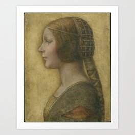 Da Vinci Art Print Art Print
