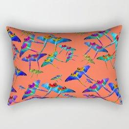 Tropical heat Rectangular Pillow