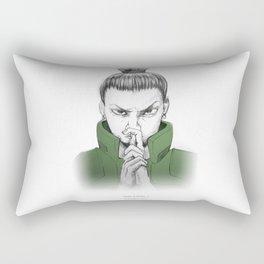 Shikamaru Nara - what a drag Rectangular Pillow
