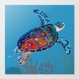 Leatherback Turtle Canvas Print
