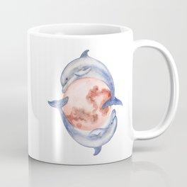 Dolphin Moon Coffee Mug