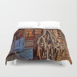 Draft Horse Harness Duvet Cover