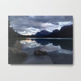 Sunset on Lake Metal Print