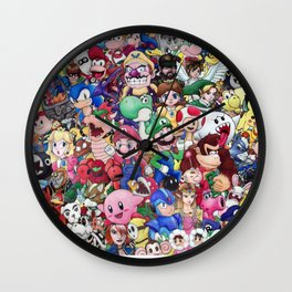 Nintendo Tribute Wall Clock