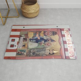 Punch And Judy On Tour Rug