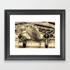 Galveston Air Museum Framed Art Print