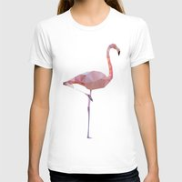 flamingo T-shirts featuring Flamingo by Three of the Possessed
