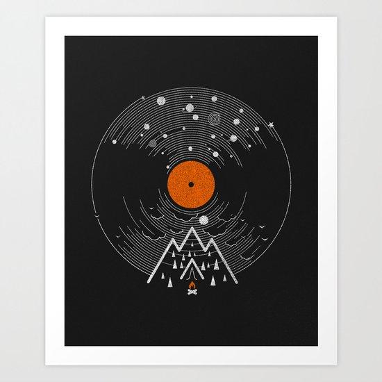 re/cordless Art Print