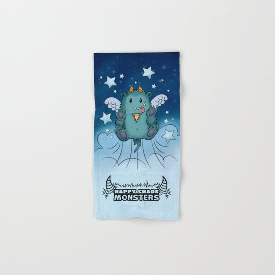 Twinkle Toes the Happy Chaos Monster Hand & Bath Towel