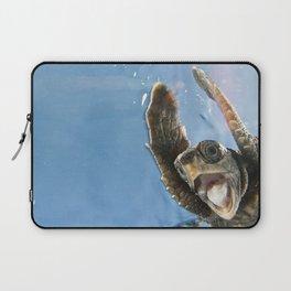 Screaming Turtle Laptop Sleeve