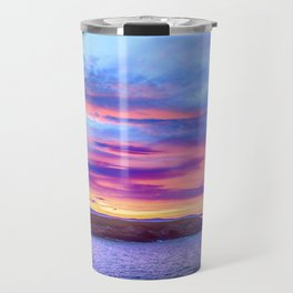 Biscay Bay sunset Travel Mug