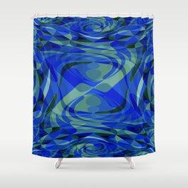 Lava Lamp Shower Curtain