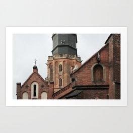breslavia wroclaw breslau _ roofs Art Print