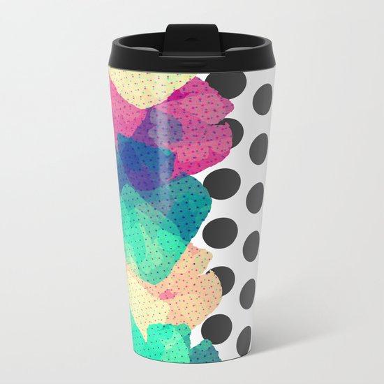 The Fall Patterns #2  Metal Travel Mug