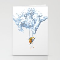 wallet Stationery Cards featuring Avalanche by Aneesh vini