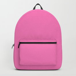 Bright Solid Retro Pink - Color Therapy Backpack