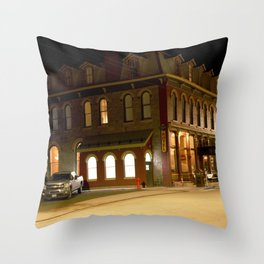 The Grand Imperial Hotel of Silverton, built in1883 Throw Pillow