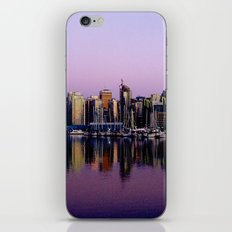 Stanley Park Skyline iPhone & iPod Skin