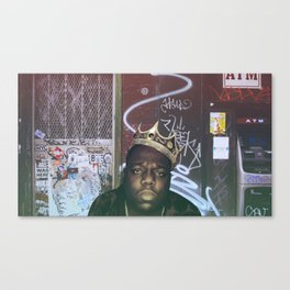 The Notorious BIG Canvas Print