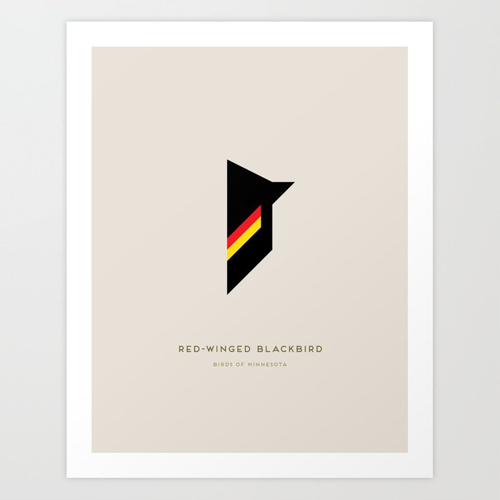 Red-Winged Blackbird Art Print