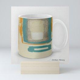Soft And Bold Rothko Inspired Modern Art Coffee Mug Large | Corbin Henry Mini Art Print