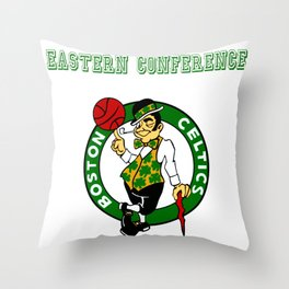 NBA EC - Boston Throw Pillow