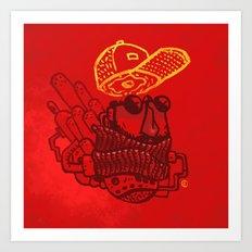 Hats n' Beards Art Print