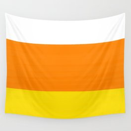 Candy Corn Color Block Wall Tapestry