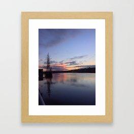 New Ross Ship Framed Art Print